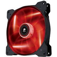 Corsair Quiet edition AF140 červená LED - Ventilátor do PC