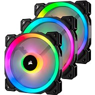 Corsair LL120 RGB LED 120mm Dual Light Loop PWM x3