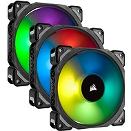 Corsair ML Pro RGB 120mm Three Fan Kit High Static Pressure PWM - Ventilátor do PC