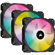 Corsair iCUE SP120 RGB ELITE Triple Pack Black + Lightning Node Core
