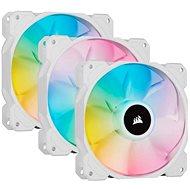 Corsair iCUE SP120 RGB ELITE Triple Pack White + Lightning Node Core - Ventilátor do PC