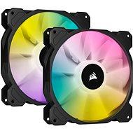 Corsair iCUE SP140 RGB ELITE Dual Pack Black + Lightning Node Core - Ventilátor do PC