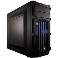 Corsair SPEC-03 Blue LED Carbide Series černá s průhlednou bočnicí - Počítačová skříň