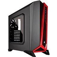 Corsair SPEC-ALPHA Carbide Series - černo-červená - Počítačová skříň