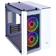 Corsair Crystal Series 280X RGB Tempered Glass bílá - Počítačová skříň