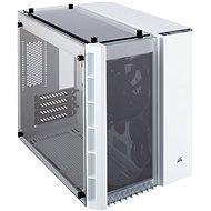 Corsair Crystal Series 280X Tempered Glass bílá - Počítačová skříň