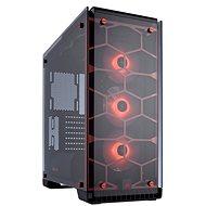 Corsair Crystal Series 570X RGB Tempered Glass - červený