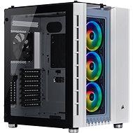 Počítačová skříň Corsair Crystal Series 680X Tempered Glass RGB bílá