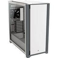 Corsair 5000D Tempered Glass White - Počítačová skříň
