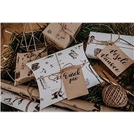 Be Nice Natural Christmas Wrapping Set - Wrapping Paper