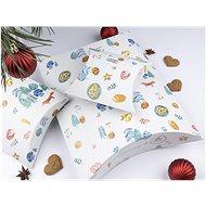 Be Nice Dětské vánoční krabičky na balení  (3 ks) - Dárková krabička