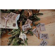 Be Nice Vánoční jmenovky (10ks) - Balení dárků