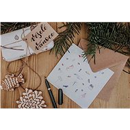 Be Nice Vánoční přání - Poetické - Dárkové přání