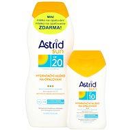 ASTRID SUN Hydratační mléko na opalování SPF 20200 ml+ Hydratační mléko na opalování SPF 10100 ml - Sada