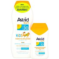 ASTRID SUN Dětské mléko na opalování SPF 30200 ml+ Hydratační mléko na opalování SPF 10100 ml - Sada
