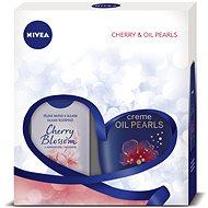 NIVEA Body Cherry dárkové balení plné péče s vůní třešňových květů - Dárková sada