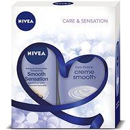 NIVEA Body Smooth dárkové balení pro hedvábně jemnou pokožku - Dárková sada