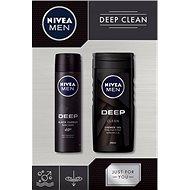 NIVEA MEN Box Deo Deep 2019 - Pánská kosmetická sada