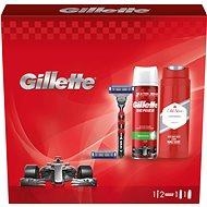 GILETTE Mach3 Turbo Set + OLD SPICE - Dárková kosmetická sada