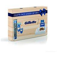 GILETTE Wood Box - Cosmetic Gift Set