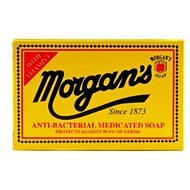 MORGAN'S Anti-Bacterial Medicated 80 g - Tuhé mýdlo