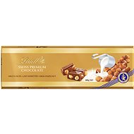 LINDT Swiss Premium Gold Tablet Hazelnut 300g - Chocolate