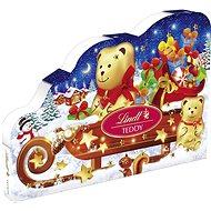 LINDT Teddy Advent Calendar 265 g - Čokoláda