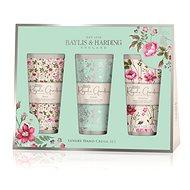 Baylis & Harding Sada krémů na ruce Rose, Poppy & Vanilla - Dárková kosmetická sada
