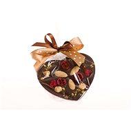 KOVANDOVI Srdce malé z hořké čokolády 125 g - Čokoláda