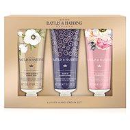 BAYLIS & HARDING Dárková sada Krémů na ruce – Královská zahrada Set 150 ml - Kosmetická sada