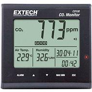 Extech CO100 Měřič oxidu uhličitého (CO2) 0 - 9999 ppm - Měřič kvality vzduchu