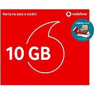 SIM karta Vodafone datová karta - 10 GB dat + kecka + ponožky
