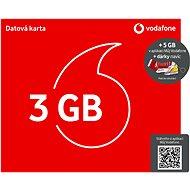 SIM karta Vodafone datová karta - 3 GB dat + kecka + ponožky