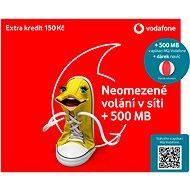 SIM karta Vodafone neomezené volání do sítě Vodafone + nafukovací míč