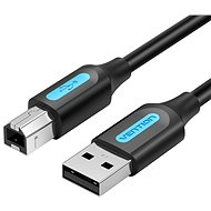 Vention USB 2.0 Male to USB-B Male Printer Cable 1M Black PVC Type - Datový kabel