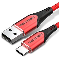 Vention Type-C (USB-C) <-> USB 2.0 Cable 3A Red 1.5m Aluminum Alloy Type
