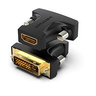 Vention HDMI (F) to DVI (24+1) Male Adapter Black - Redukce