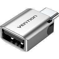 Vention USB-C (M) to USB 3.0 (F) OTG Adapter Gray Aluminum Alloy Type