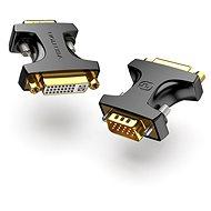 Vention VGA (M) to DVI (F) Adapter Black - Redukce