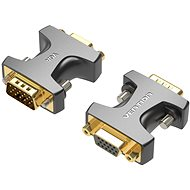 Vention VGA Male to Female Adapter Black - Redukce
