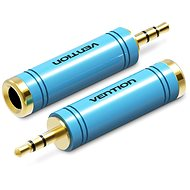 Vention 3.5mm Jack (M) to 6.3mm (F) Adapter Blue