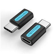 Vention USB-C (M) to Micro USB 2.0 (F) OTG Adapter Black PVC Type - Redukce