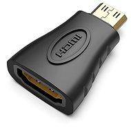 Vention Mini HDMI (M) to HDMI (F) Adapter Black - Redukce
