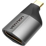 Vention Type-C (USB-C) to DisplayPort (DP) Adapter Gray Metal Type - Redukce