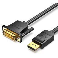 Vention DisplayPort (DP) to DVI Cable 1m Black - Video kabel