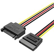 Vention SATA 15P Power Extension Cable 0.3M Black