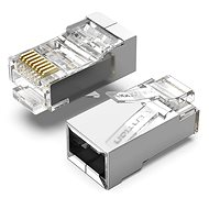 Vention Cat.6 FTP RJ45 Modular Plug Transparent 100 Pack - Konektor