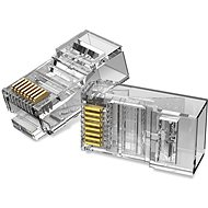Vention Cat.6 UTP RJ45 Modular Plug Transparent 100 Pack - Konektor