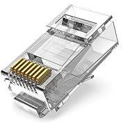 Vention Cat.6A UTP RJ45 Modular Plug Transparent 100 Pack - Konektor