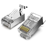 Vention Cat.7 FTP RJ45 Modular Plug Transparent 10 Pack - Konektor